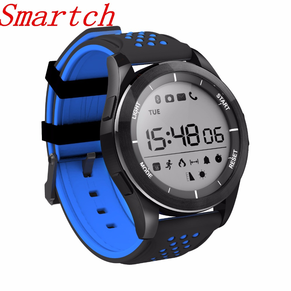 Smartch NO.1 F3 Smart Watch Bracelet IP68 Waterproof Hiking Sports Smartwatch Outdoor Fitness Tracker Wearable Devices For Andro