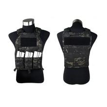 Multicam Black 419 Tactical vest with Magazine Pouch MCBK