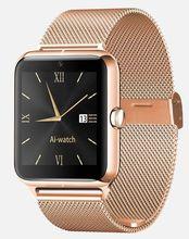2016ใหม่ล่าสุดแฟชั่นนาฬิกาบลูทูธสมาร์ทZ50ที่มีอัตราการเต้นหัวใจซิมการ์ดTF mp3 mp4ใช้งานร่วมกับแอปเปิ้ลและAndroidโทรศัพท์
