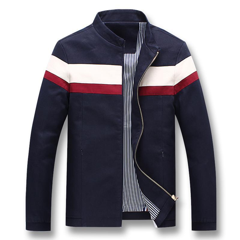 HTB1dcu7XozrK1RjSspmq6AOdFXaM iSurvivor 2019 Men Spring Patchwork Jackets and Coats Jaqueta Masculina Male Casual Fashion Slim Fitted Zipper Jackets Hombre