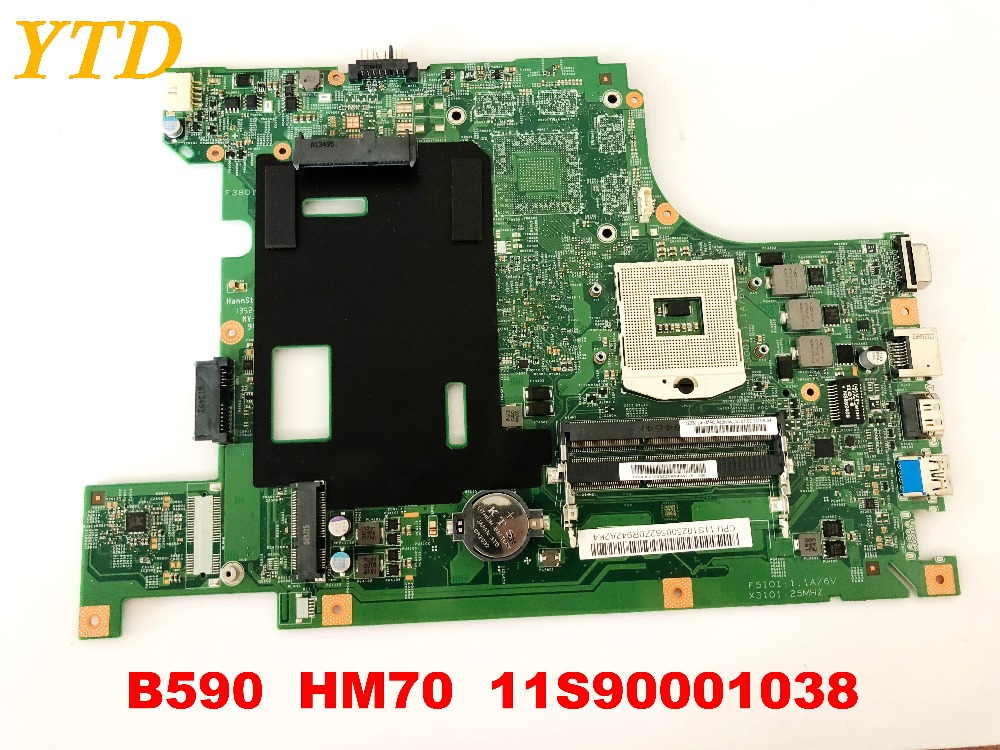 Original For Lenovo B590 Laptop Motherboard HM70  11S90001038 Tested Good Free Shipping