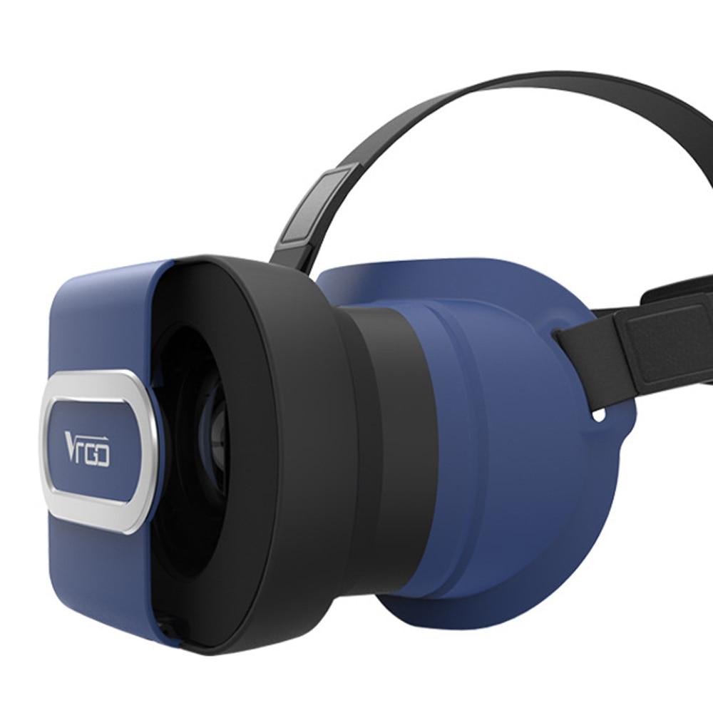 Ritech vr vr ir gafas de realidad virtual de cartón plegable caja de los vidrios video 3d vr 3d casco de 4.7-6.0 pulgadas smartphone