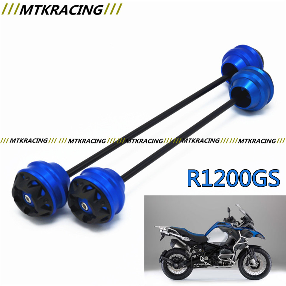 free shipping for for bmw r1200gs r1200gs adv r1200r t st 2004 2012 cncaluminum front MTKRACING Free shipping for BMW R1200GS 2004-2012 CNC Modified+Motorcycle Front wheel drop ball / shock absorber