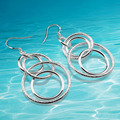 925 sterling silver hoop earring fashion women good quality pure silver earring.lady . party decorations