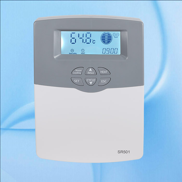 ₩110 V-220 V SR501 (SR500) calentador de agua solar controlador de ...