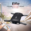 Original JJRC Foldable Pocket Selfie Drone With Camera Wifi Fpv Quadcopter Rc Drones Phone Control Helicopter Mini Dron H37