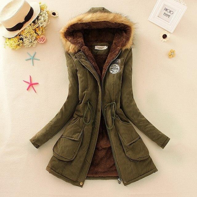 2016 новые парки женщины-женщины зимнего пальто утолщение зимняя куртка женщин пиджаки парки для женщин зима