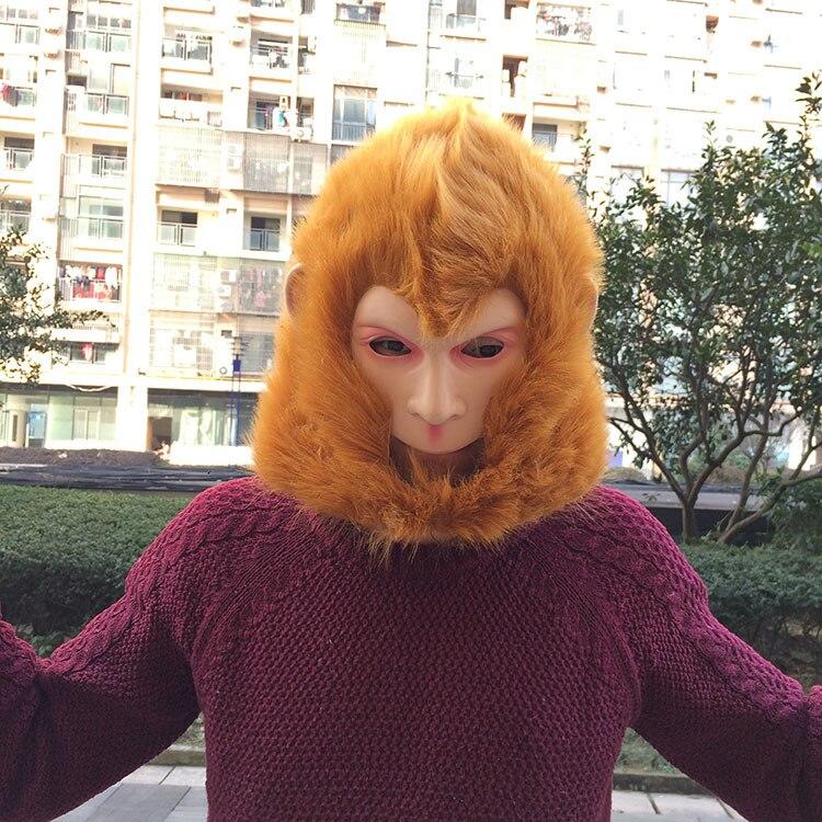Monkey King maskë Halloween / Christmas Costume Theater Prop Latex - Furnizimet e partisë - Foto 4
