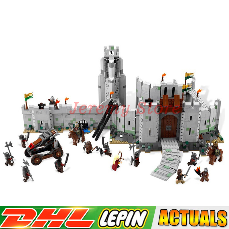 Lepin 16013 1368Pcs The Lord of The Rings The Battle of Helm' Deep Model Building Blocks Bricks Toys Compatible Legoings 9474 все цены