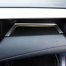 Solo per guida a Sinistra Per Toyota RAV4 2014 2017 Accessori Opaco Interno Co pilota di stoccaggio U tipo di Copertura Trim Decorazione