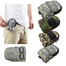 Outdoor Tactical Military Molle Camo Waist Bag Waterproof Pouch Fanny Pack Vintage Travel Mobile Phone Hip Bum Belt Pouch(China)