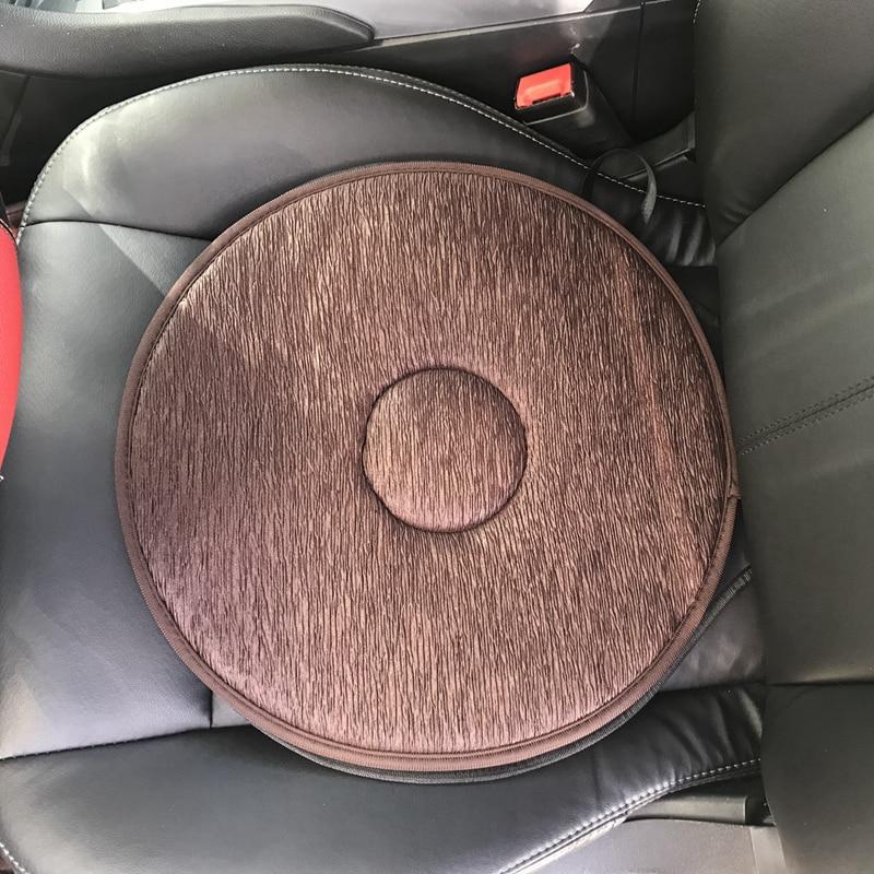 Universal 360 Degree Rotating Car Seat Cushion Swivel Foam