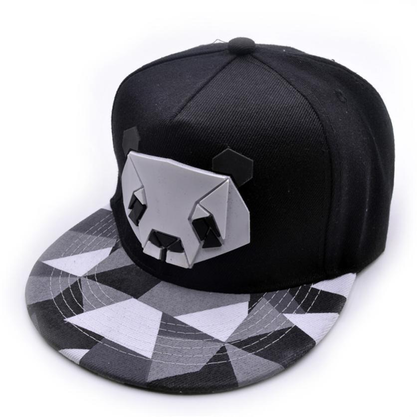 snowsong # 5003 freeshippng Womens Sports Baseball Panda Cap Snapback Golf ball Hip-Hop Hat