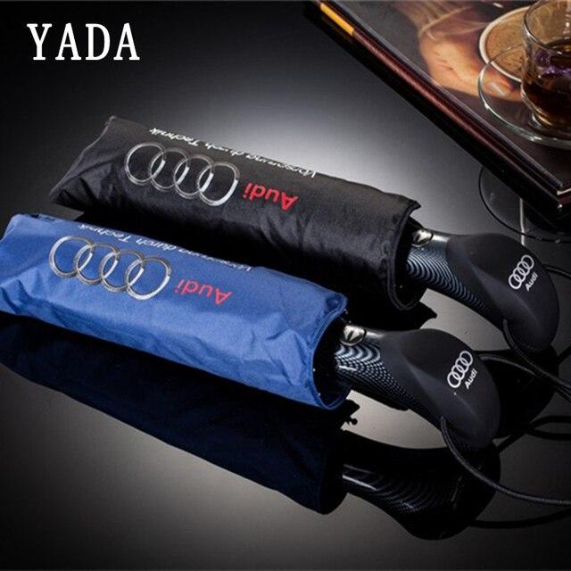 YADA Высокое качество Audi Mercedes-Benz автоматический зонт дождь УФ складной зонтик автомобиля для женщин мужчин ветрозащитные Зонты мужской YS500