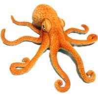 80cm Simulation Animal Lifelike Octopus Plush Toy Throw Pillow Home Car Decoration Birthday Gift