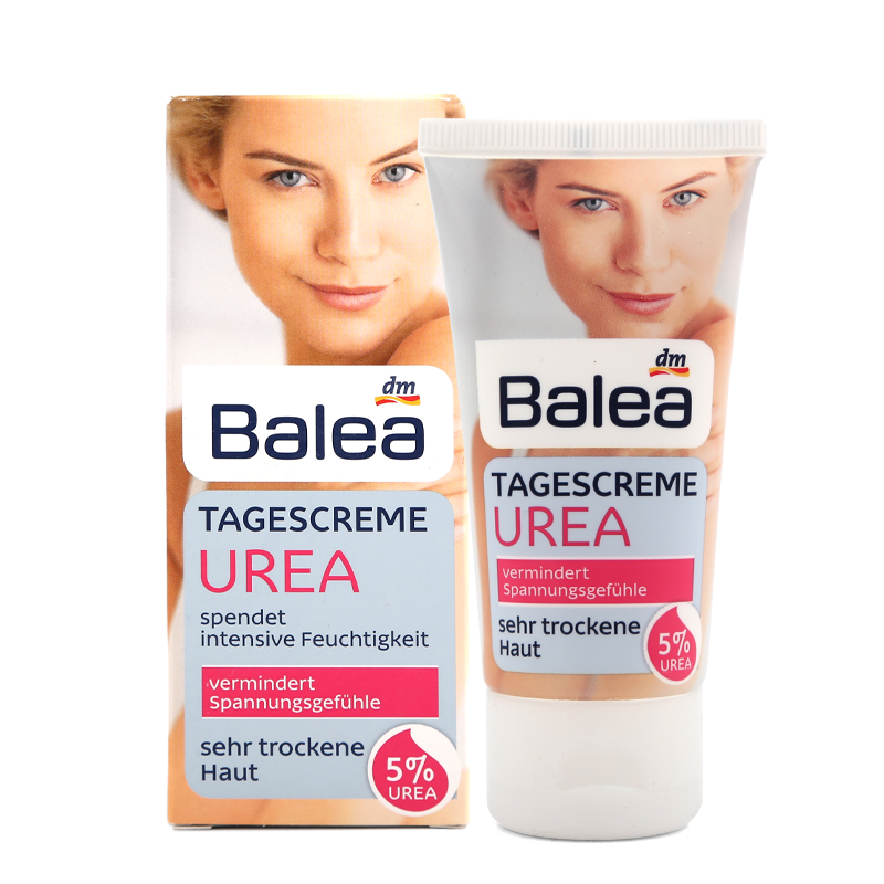 Quality Balea Urea Day Cream with 5% Urea Cream for Very Dry Skin Intensive moisture Gentle Soothing care Pleasant skin feeling все цены