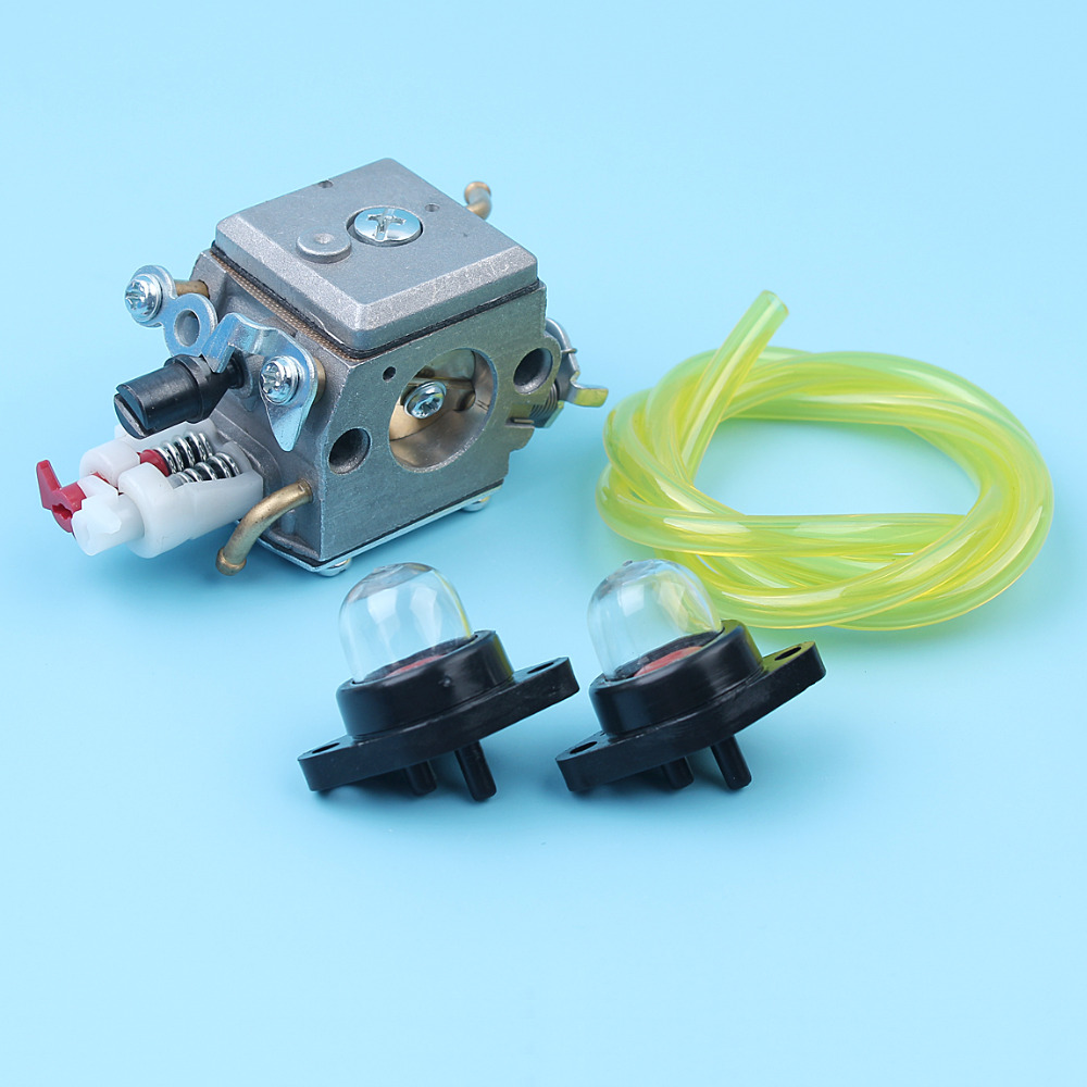 Carburetor Primer Bulb Fuel Line Hose Kit For Husqvarna 340 345 346 XP 350 353 Chainsaw Zama C3 EL32 Carb 503283208 503 28 32-08