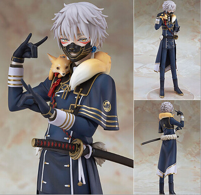 NEW hot 22cm Touken Ranbu Online Nakigitsune action figure toys collection Christmas gift doll new hot 20cm touken ranbu online hotarumaru action figure toys collection christmas toy doll