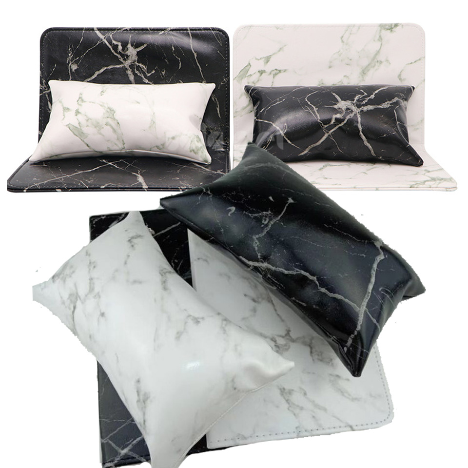 Tools & Accessories Hand Rests Soft Hand Cushion Pillow And Pad Rest Nail Art Arm Rest Holder Manicure Nail Art Accessories Pu Leather Black