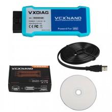 Оригинальная версия Wi-Fi VXDIAG VCX NANO для GM/Opel несколько GDS2 и TIS2WEB диагностики/программирования системы
