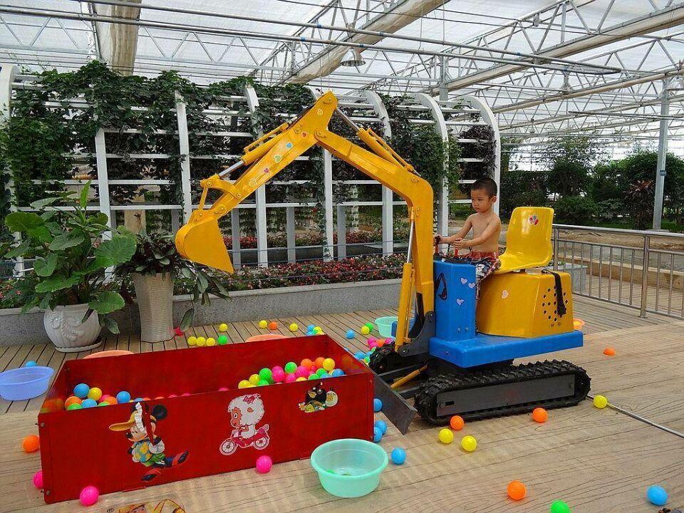 Top Quality Playground Equipment CE Certified Children Electronic Digger HZ-W002
