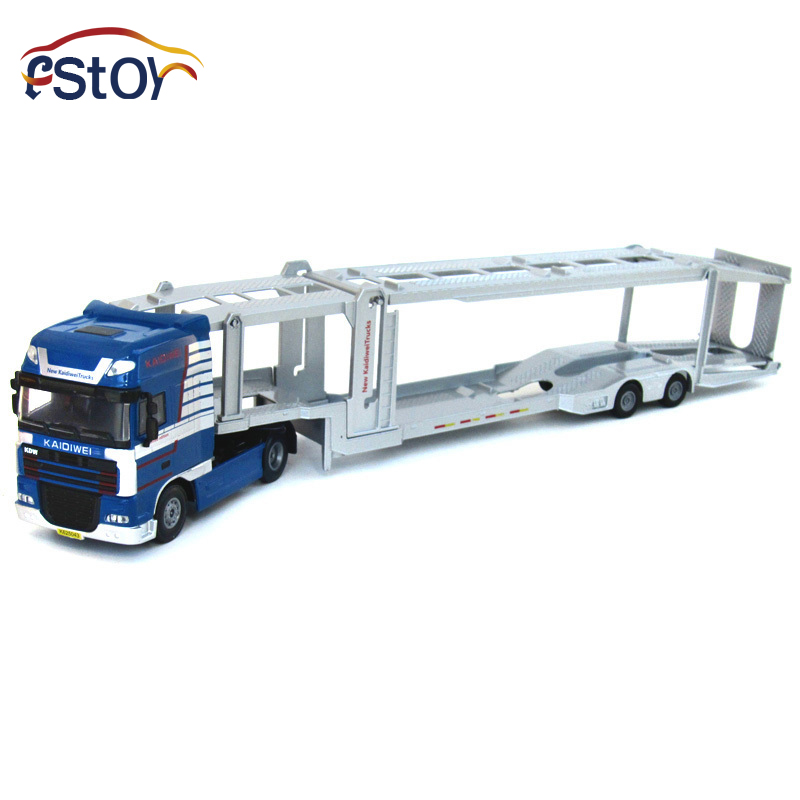 Alloy Diecast model trucks transport 1:50 Engineering car vehicle scale Truck collection gift toy 1 50 drill wagon alloy truck engineering vehicle toy car model dinky toys for children boys gift