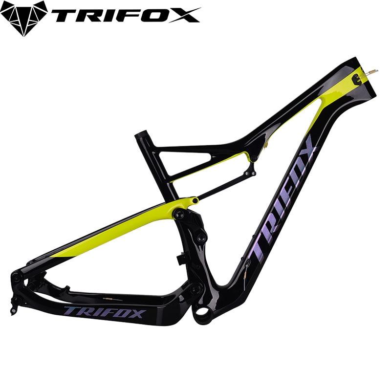 TRIFOX Carbon Mtb Frame 29er Carbon Disc-Brakes MTB Bicycle Frame T1000 UD Matte Carbon Frame