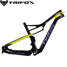 TRIFOX Carbon mtb Frame 29er Carbon Disc-Brakes MTB Bicycle Frame T1000 UD Matte Carbon Frame 435g am 29er carbon mtb rim mountai bikes rim am 29er mtb 36mm width mtb bicycle rims 28h 32h 3k glossy tubeless mtb rims