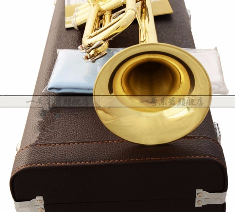 Trumpet 2335S Music Instrument B flat trumpet preferred New trumpet super professional performance Free shipping