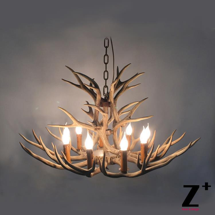 High Quality American Country Style One Tier Resin Deer
