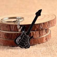 1PC New Fashion Metal Guitar keychains Violin shape key chains SALE advertisement promotion gift Stylish Craft MY 011
