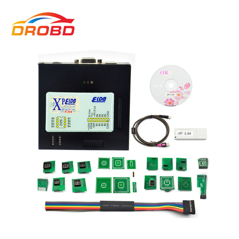 NEW <font><b>XPROG</b></font> 5.84V5.55 V5.70 V5.72 V5.74 V5.75 V5.84 Black Metal Box Better tXPROG <font><b>M</b></font> V5.70ECU Programming Interface <font><b>Xprog</b></font>-<font><b>M</b></font> V5.70 image