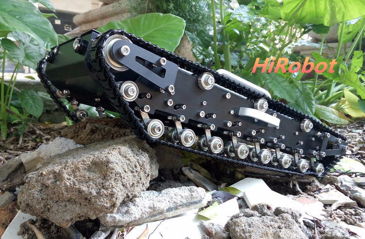 Tank WT500, Big Tank, tracked tank car,load carry more than 20kg! / obstacle-surmounting robot parts for DIY tank car diy tracked robot