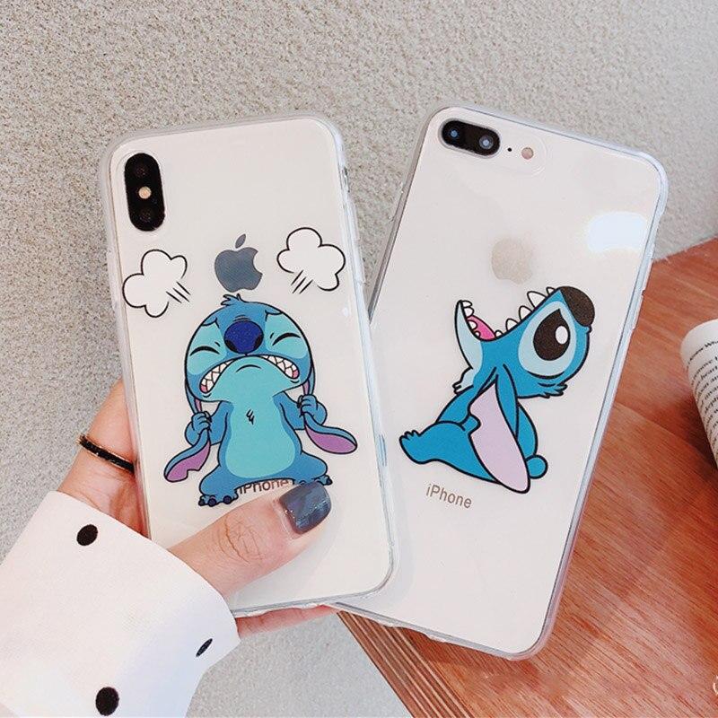 fundas iphone 6 plus transparentes con dibujos