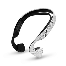Bone Conduction Bluetooth 4.0 Wireless Headphone Sports Headset Stereo Bass Earphone with Microphone USB Hot Sale New 2017