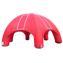 10m by 10m Inflatable Tent for Events Free Sea Shipping And Easy to Install Air Pump Included