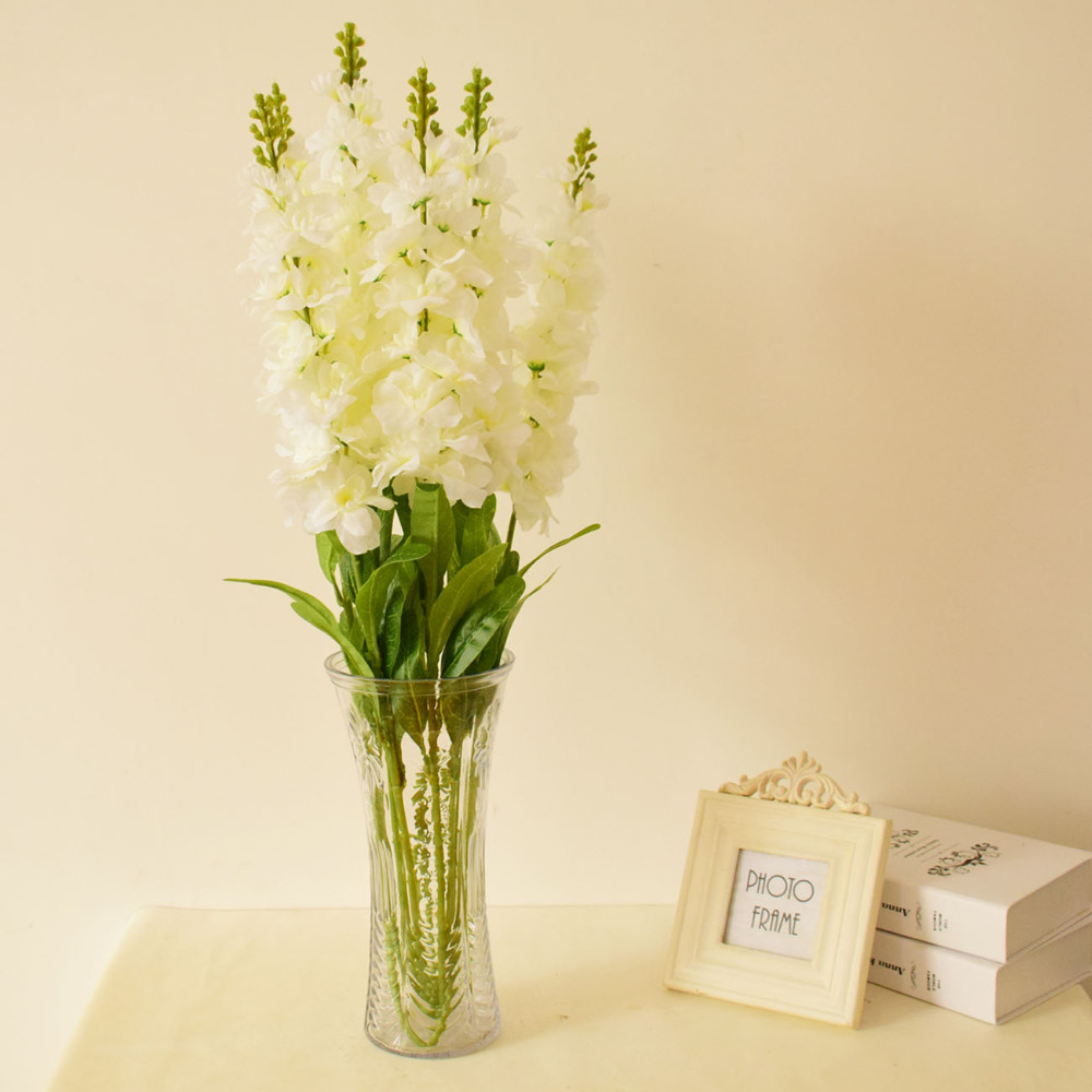 Silk Hyacinth Artificial Flowers Delphinium For Party Home Wedding