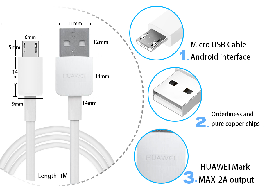 huawei cable otg