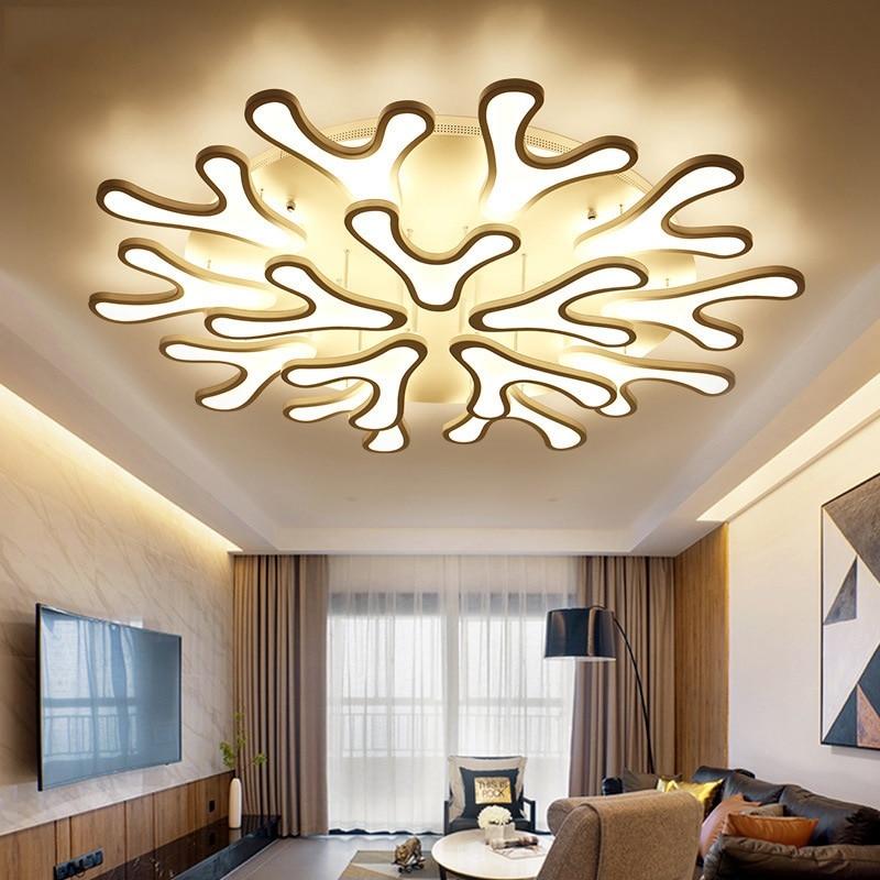 Творческий коралловый светодиодный пост-современный потолочный светильник Мода Творческий дом и коммерческих декор, потолочные светильни...