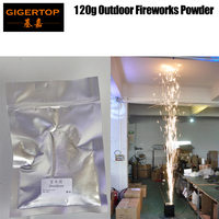 Gigertop Cold Firemachine Jet Material Gray Color 120g/bag EMS Freeshipping Stage Effect Machine Using Cold Spark Fountain