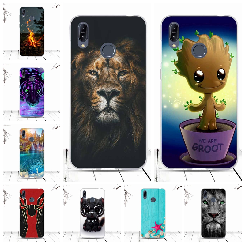 Phone Case For Asus Zenfone Max (M2) ZB633KL Case Cover Soft TPU Silicone Back Cover For Asus Zenfone Max (M2) ZB633KL Fundas