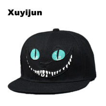 06e3d859d06 Xuyijun 2018 Alice Wonderland Cheshire Cat cartoon baseball caps BUGS BUNNY  SYLVESTER hats for Men and Women snapback hiphop