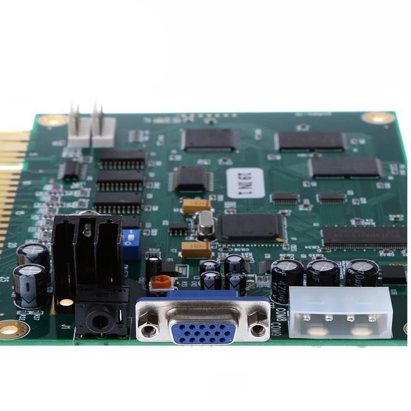 19 en 1 jeu Machine carte mère Pcb Circuit imprimé horizontale Arcade Multigame plateau pour Jamma jeu Support Cga Vga