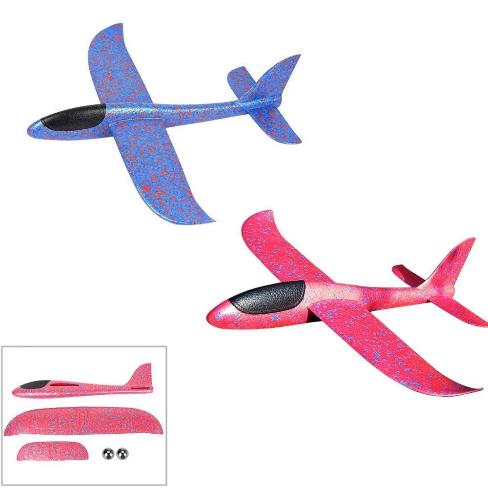 EPP mousse main jet avion extérieur lancement planeur avion enfants cadeau jouet 34.5*32*7.8cm jouets intéressants