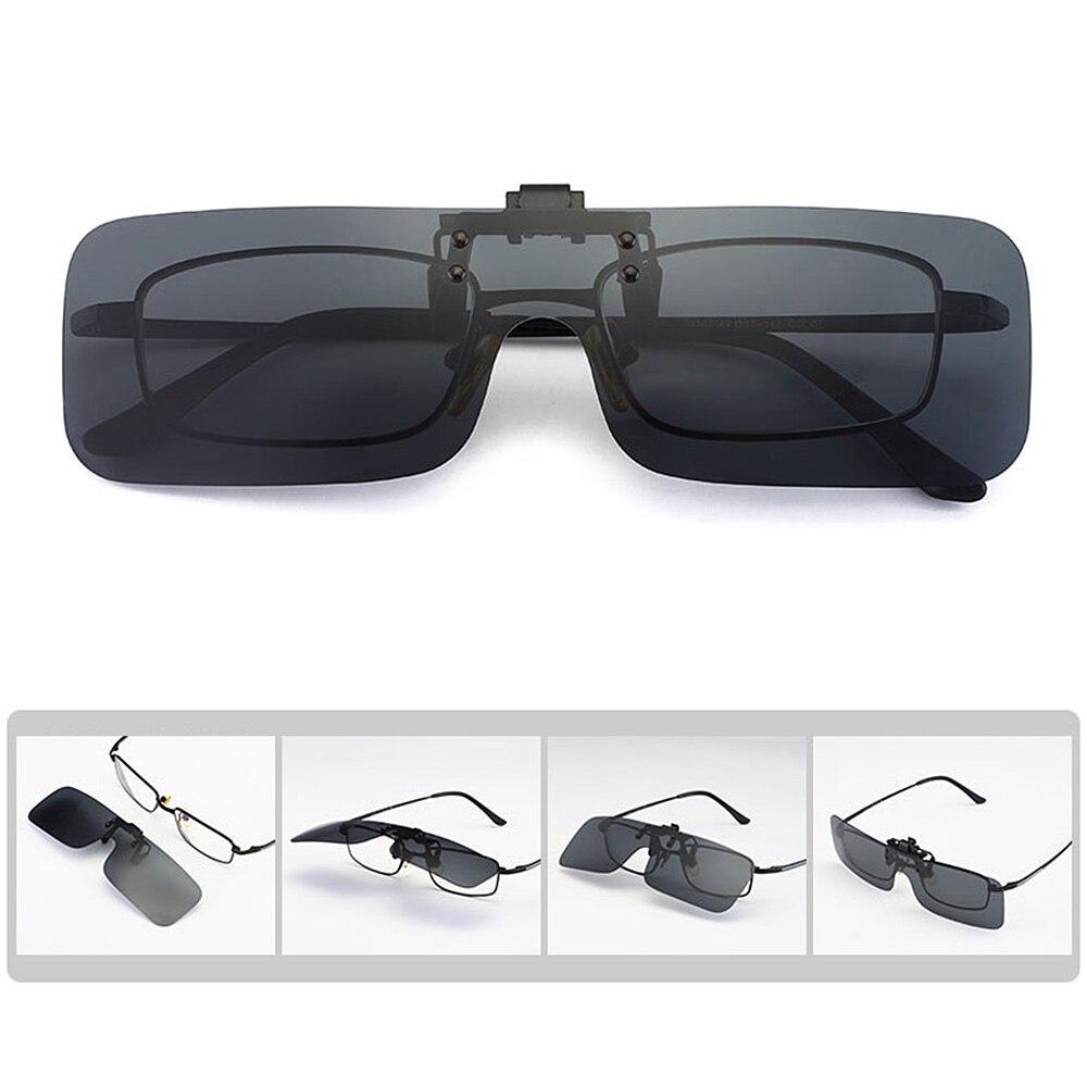 LEEPEE Anti-glare Polarized Sun Glasses Driving Night Vision Lens Car Driver Goggles Clip On Sunglasses For Men Women