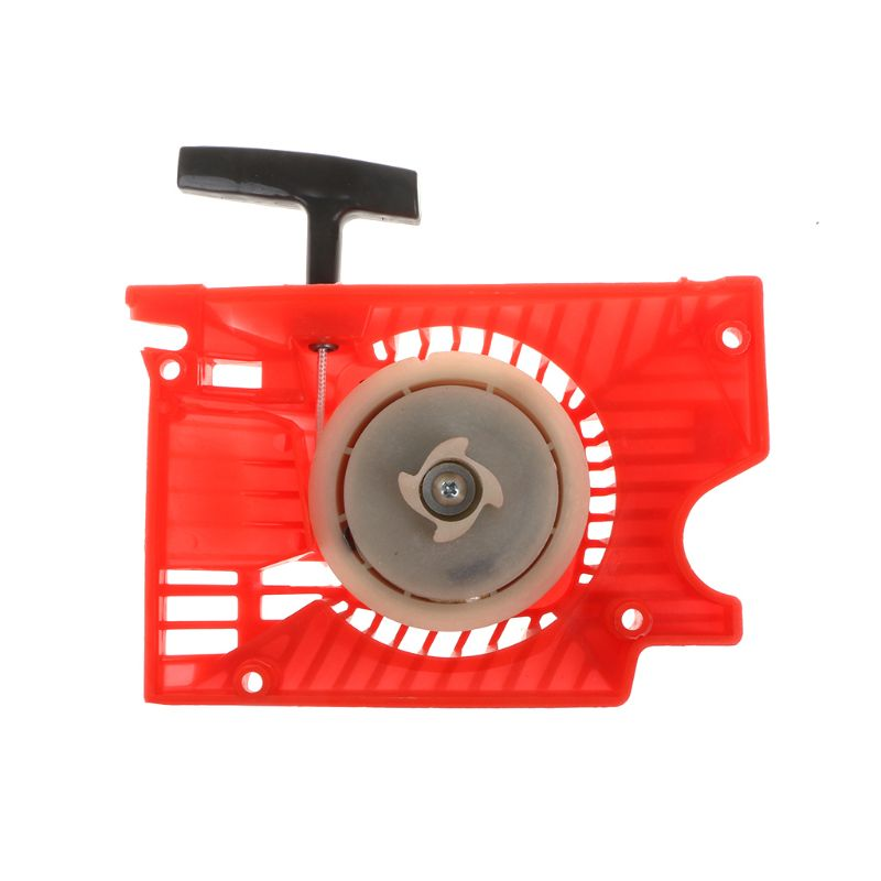 Lawn Mower Single Recoil Pull Start Starter For Chinese Chainsaw 4500 5200 5800