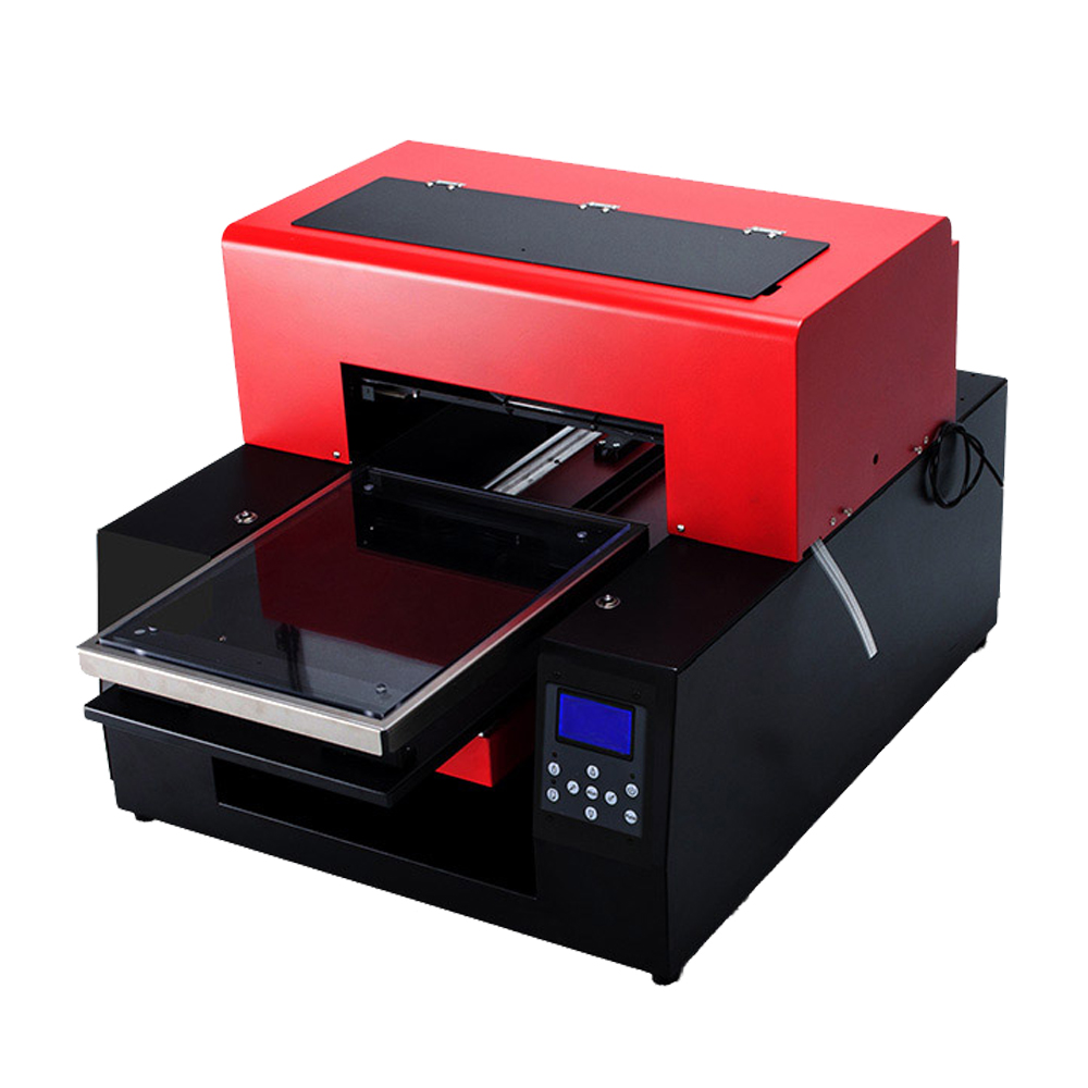 6bca4896a Automatic A3 Size 6 color Flatbed Printer T shirt DIY Print Machine Textile Clothing  DTG Printers for White Dark T shirt -in Printers from Computer & Office ...