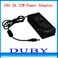 New Universial AC/For DC 24V 3A 72W Power Supply Charger Adaptor For LED Strip Light CCTV Camera Free Shipping