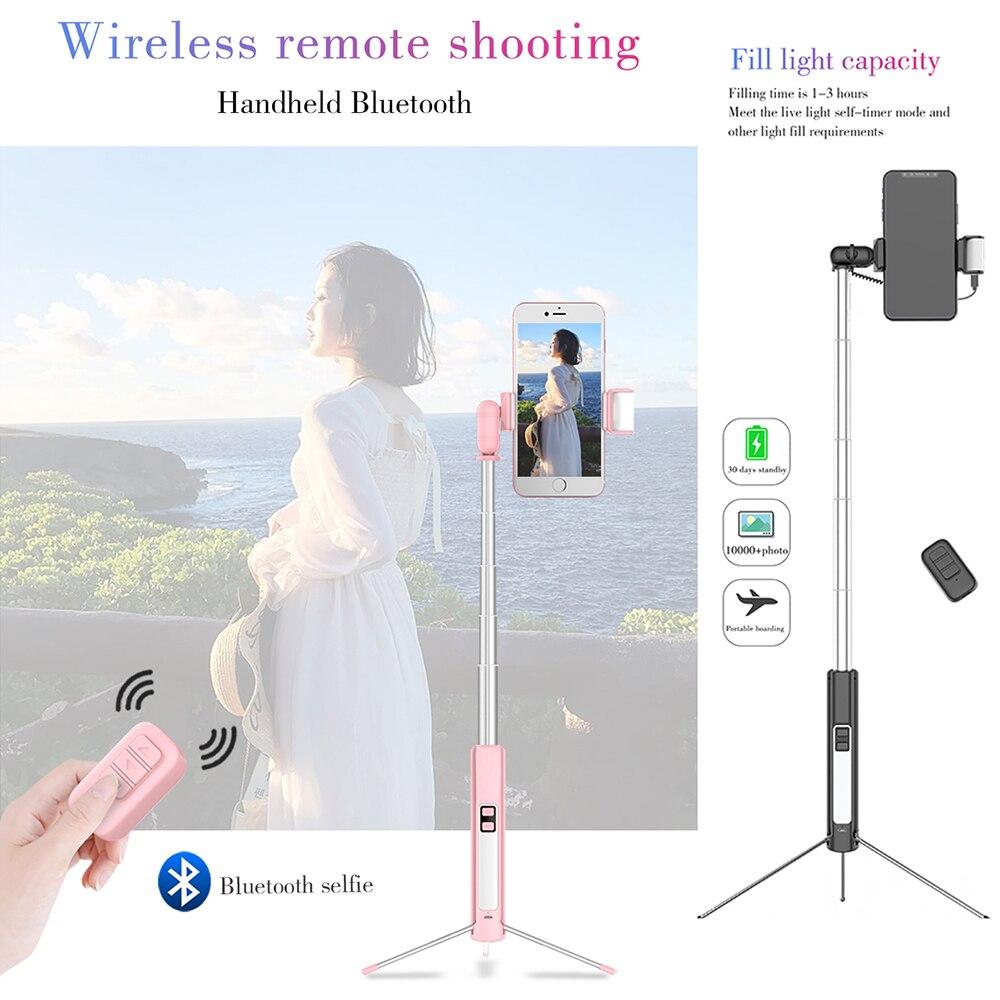 Portable Bluetooth Selfie wireless Stick Tripod Cellphones & Telecommunications Mobile Phone Accessories Selfie Sticks