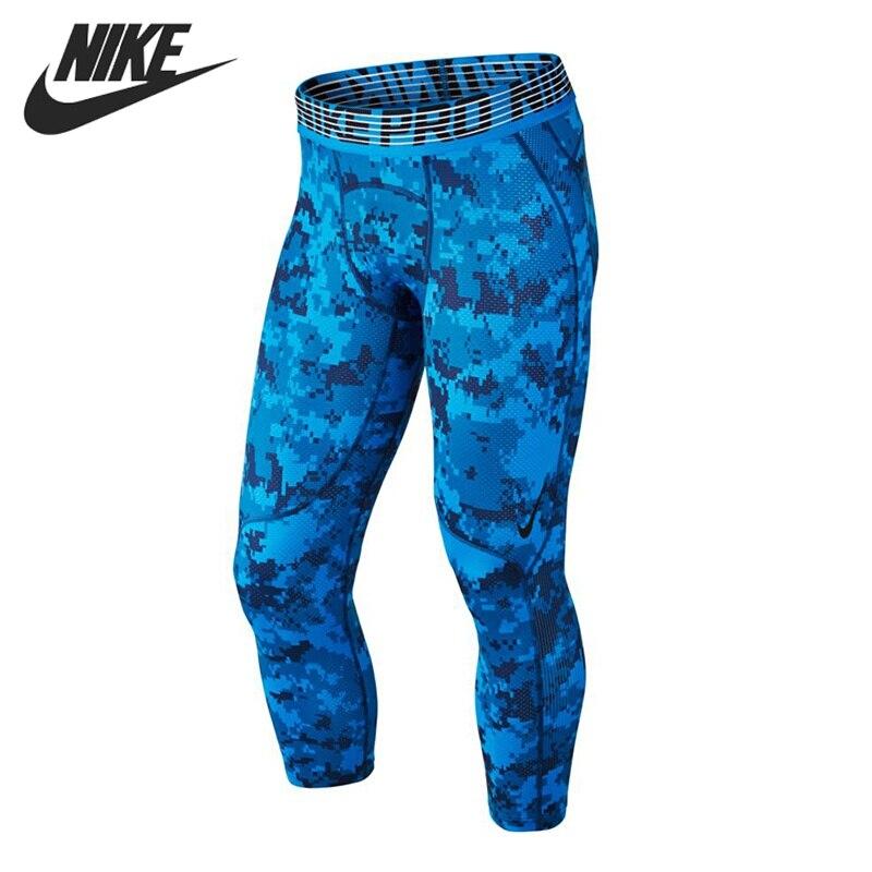 Original New Arrival 2017 NIKE M NP HPRCL TGHT 3QT DIGI CAMO Men's Shorts Sportswear